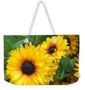 Yellow Garden Weekender Tote Bag