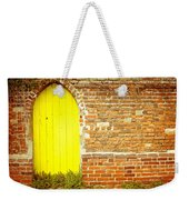 Yellow Gateway Weekender Tote Bag