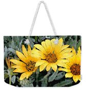 Yellow Gazanias Weekender Tote Bag