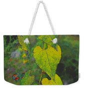 Yellow Heart Leaves IIi Photoart Weekender Tote Bag