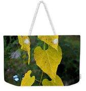 Yellow Heart Leaves Photoart II Weekender Tote Bag