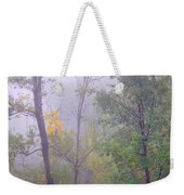 Yellow In The Fog Weekender Tote Bag