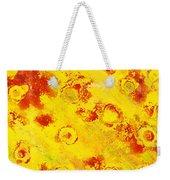 Yellow Mud Bubbles Weekender Tote Bag