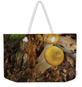 Yellow Mushrooms Weekender Tote Bag
