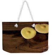 Yellow Mushrooms2 Weekender Tote Bag