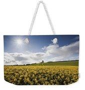 Yellow Rapeseed Field, Newgrange Weekender Tote Bag