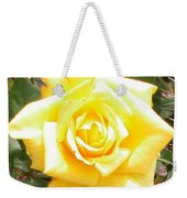 Yellow Rose At High Noon Weekender Tote Bag by Alys Caviness-Gober