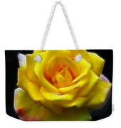 Yellow Rose In The Moonlight Weekender Tote Bag