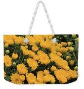 Yellow Sea Of Flowers Weekender Tote Bag