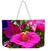 Yellow Spider In The Sun Weekender Tote Bag