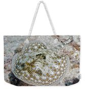 Yellow Stingray In Caribbean Sea Weekender Tote Bag