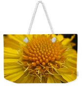 Yellow Summer Weekender Tote Bag