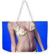 Yellow Swim 13-crop Weekender Tote Bag