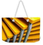 Yellow Tables Weekender Tote Bag