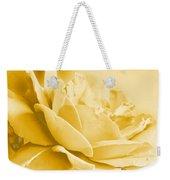 Yellow Tone Rose  Weekender Tote Bag