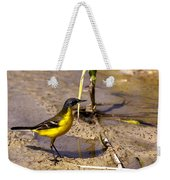Yellow Wagtail Weekender Tote Bag