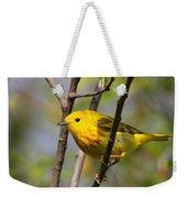 Yellow Warbler II Weekender Tote Bag