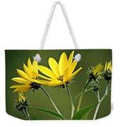 Yellow Wildflower 2 Weekender Tote Bag