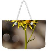 Yellow Wildflower At Crater Lake Weekender Tote Bag
