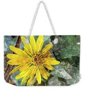Yellow Wildflower Photoart Weekender Tote Bag