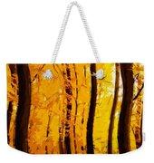 Yellow Wood Weekender Tote Bag