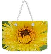 Yellow Zinnia 9494 4286 Weekender Tote Bag