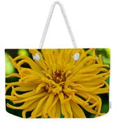 Yellow Zinnia_9480_4272 Weekender Tote Bag
