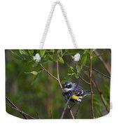 Yellowrumped Warbler Weekender Tote Bag