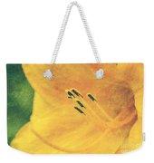 Yellows - Textured Weekender Tote Bag