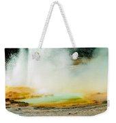 Yellowstone Geysers Weekender Tote Bag