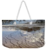 Yellowstone Reflection Weekender Tote Bag