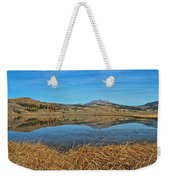 Yellowstone Reflections 9437 Weekender Tote Bag