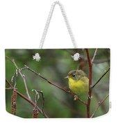 Yellowthroated Warbler Weekender Tote Bag