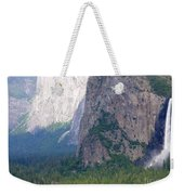 Yosemite Bridal Veil Fall Weekender Tote Bag