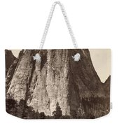 Yosemite: Cathedral Rock Weekender Tote Bag