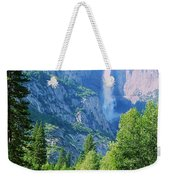 Yosemite Falls And Merced River Weekender Tote Bag