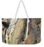 Yosemite Falls Rainbow Weekender Tote Bag