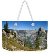 Yosemite Half Dome Weekender Tote Bag