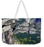 Yosemite Valley From Glacier Point Weekender Tote Bag