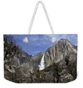 Yosemite Water Fall Weekender Tote Bag