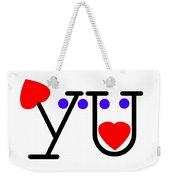 You Weekender Tote Bag