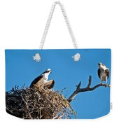 You Lookin At Me Weekender Tote Bag