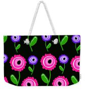 Young Florals  Weekender Tote Bag by Louisa Knight