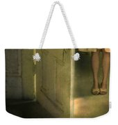 Young Lady By Open Door Weekender Tote Bag