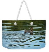 Young Male Garganey Weekender Tote Bag