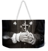 Young Renaissance Priest Weekender Tote Bag