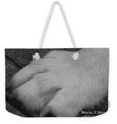 Young Wolf Paw Weekender Tote Bag