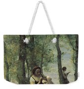 Young Woman At Her Toilet Weekender Tote Bag