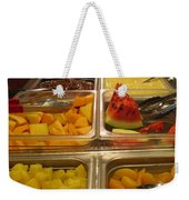 Your Choice Of Fruit Weekender Tote Bag by Ausra Huntington nee Paulauskaite