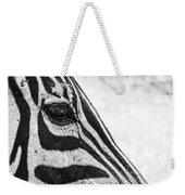 You've Got Zebra Eyes Weekender Tote Bag